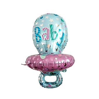 Large Size Baby Pacifier Aluminum Film, Baby Birthday Party Balloons