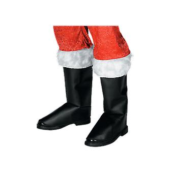Deluxe Boot Covers Father Christmas Santa Costume Accessory