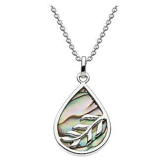 Dew sterling zilver Tear vorm met Paua shell hanger 9063PA024