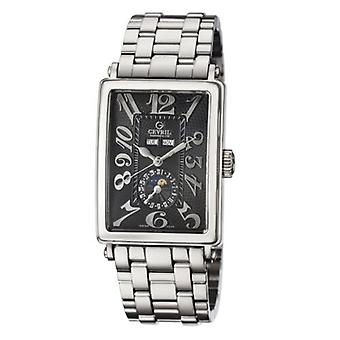 Gevril Men's 5031B AVENUE OF AMERICAS Automatic Limited Edition Steel Date Watch