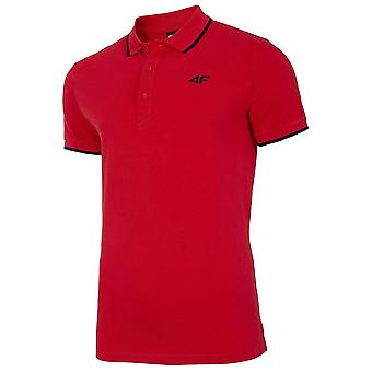 4F TSM009 NOSH4TSM009CZERWONY universal all year men t-shirt