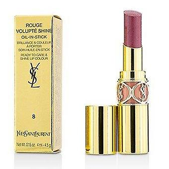 Rouge Volupte Shine - # 8 Pink In Confidence or  Pink Blouson 4.5g or 0.15oz