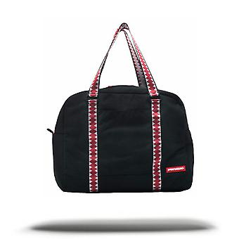 Sprayground Ghost Vertical Shark Duffel Bag - Black