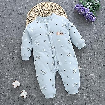 Newborn Winter Snowsuit, Baby Thick Cotton Warm Jumpsuit, Cute Hooded Romper