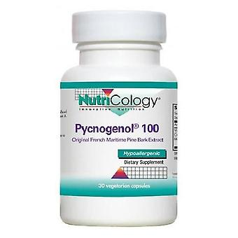 Nutricology/ Allergy Research Group Pycnogenol 100, 30 Vegicaps