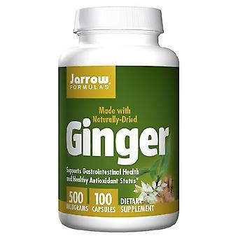 Jarrow Formulas Ginger, 500 mg, 100 Caps
