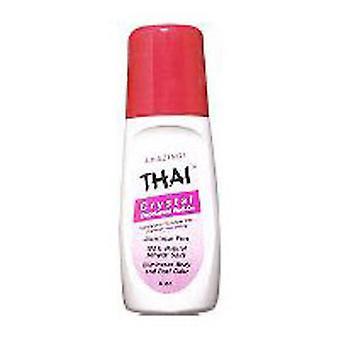 Thai Deodorant Stone Thai Crystal Mist Roll On, 3 Oz
