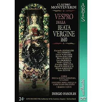 モンテヴェルディ - Vespro Della ベアタ Vergine 【 DVD 】 アメリカ インポートします。
