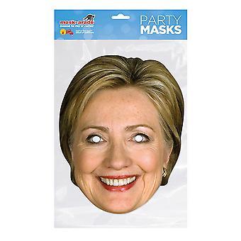 Mask-arade Hilary Clinton Party Mask