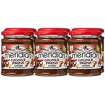 Meridian Foods Cocoa & Peanut Butter 6  x 280 gr