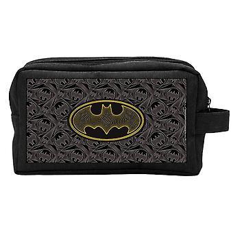 DC קומיקס באטמן שחור נסיעות לשטוף את התיק