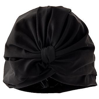 Goddess Black Shower Turban