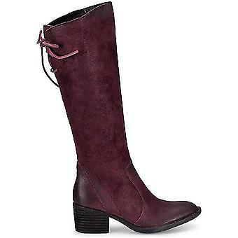 BORN Women Felicia Distressed Suede Leather Tall Boots