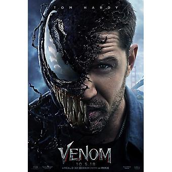 Venom Original Movie Poster Advance Style