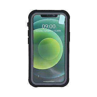 Mobilskal för iPhone 12 / 12 Pro Svart/Grå