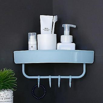 Portable Storage Rack For Bathroom With Draining Design And Space Saving,