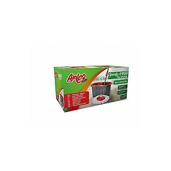 Zestaw Speed Mop Obrotowy + Wiadro W Kartonie 6014 Gosia Amigo