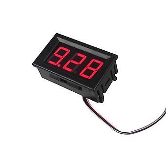Hoge kwaliteit Voltmeter Ammeter Blauw + Rood Led Amp Dual Digital Volt Meter