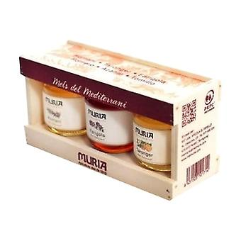 Mediterranean Honey Pack 3 units of 250g