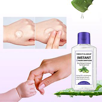 Hand Sanitizer Gel - Moisturizing Aloe Extract Deep Cleansing Nourish No