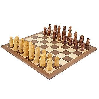 مجموعة شطرنج القدس شيشام والجوز الملتفة