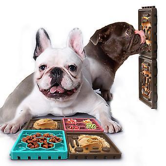 emPAWrium 4 tarjotin koira hidas syöttölaite & nuolla lokero asettaa liukumaton kulho ruoka