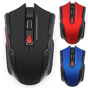 Wireless Optical Mouse, Game Wireless Mice With Usb Receiver For Pc Gaming,