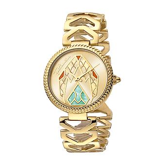 Just Cavalli Women's Magnifica Champagne Dial Stainless Steel Watch
