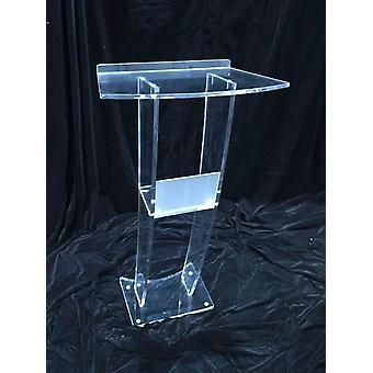 Moderni akryyli podium saarnatuoli Lectern