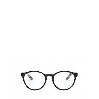 Ray-Ban RX5380 musta läpinäkyvillä unisex-silmälasilla