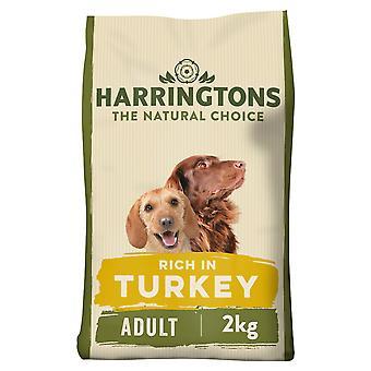 Harringtons Adult Dog Food with Turkey and Vegetables (2kg)