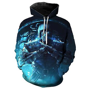 Mortal Kombat 11 New Anime Game 3d Sweater Hoodie