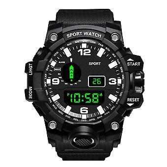 HONHX 55-Z66 الرجال مضيئة عرض ساعة توقيت الرياضة ساعة رقمية