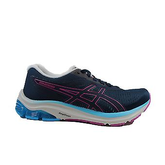 Asics Gel-Pulse 12 French Blue/Grape Mesh Womens Lace Up Running Trainers