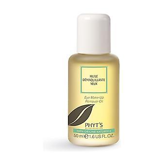 Waterproof eye makeup remover 50 ml of oil