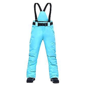 Pantalones de esquí para mujer, pantalones de tirantes deportivos al aire libre hombres