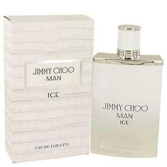 Jimmy Choo Ice By Jimmy Choo Gift Set -- 1.7 Oz Eau De Toilette Spray + 3.3 Oz Shower Gel (men) V728-553789