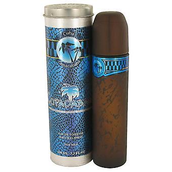 Cuba Copacabana Eau De Toilette Spray av Fragluxe 3,4 oz Eau De Toilette Spray