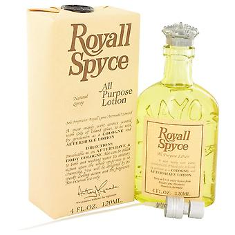 Royall Spyce All Purpose Lotion / Cologne By Royall Fragrances 4 oz All Purpose Lotion / Cologne
