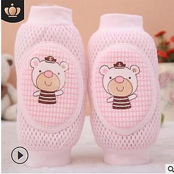 Baby Cute Knee Pad Newborn Infant Kids Soft Anti-slip Safety Elbow Knee Pads