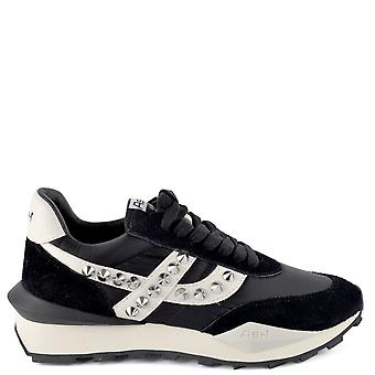 Ash Footwear Spider Studs Low-top Trainers Black