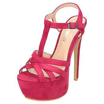 Koi Footwear Peep Toe Stiletto Platform Shoes High Heel Sandals