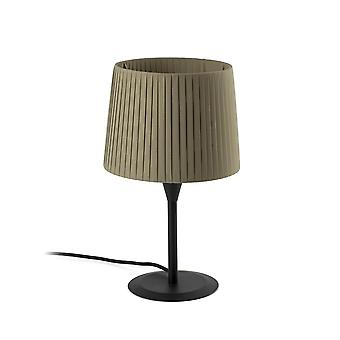Table Lamp Round Tapered Black, E27