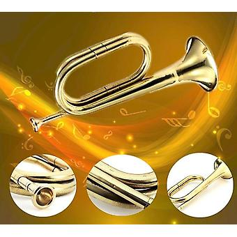 Trumpet-b Flat Bugle With Mouthpiece For School Band Practice