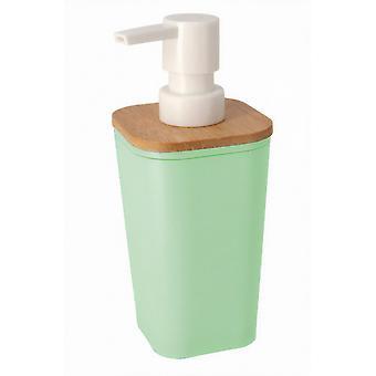 soap dispenser axel 360 ml plastic green