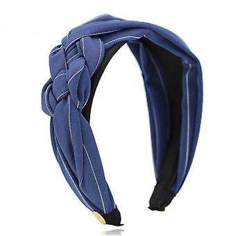 Hairband Wide Edge Knotted Hairband Bowknot Hair Hoop