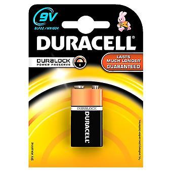 9V Duracell Alkaline Batterie Duralock Kabeljau 81427279