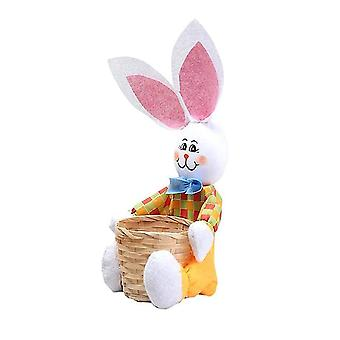 Easter Basket Easter Bunny Basket Eggs Candy Gift Box Storage Rabbit Bag Party Decoration Home Decoration