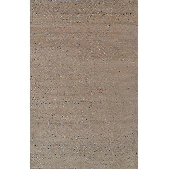 Spura Home Käsin solmittu Damask Puuvilla & Silkki 5x8 Maalaismainen Siirtymäalue Matto
