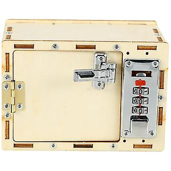 Diy Wooden Password Box, Model Building Kits, Baby Kids For, Science Projects,